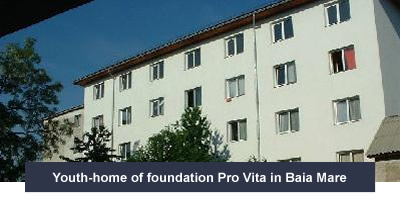Youth-home of foundation Pro Vita in Baia Mare
